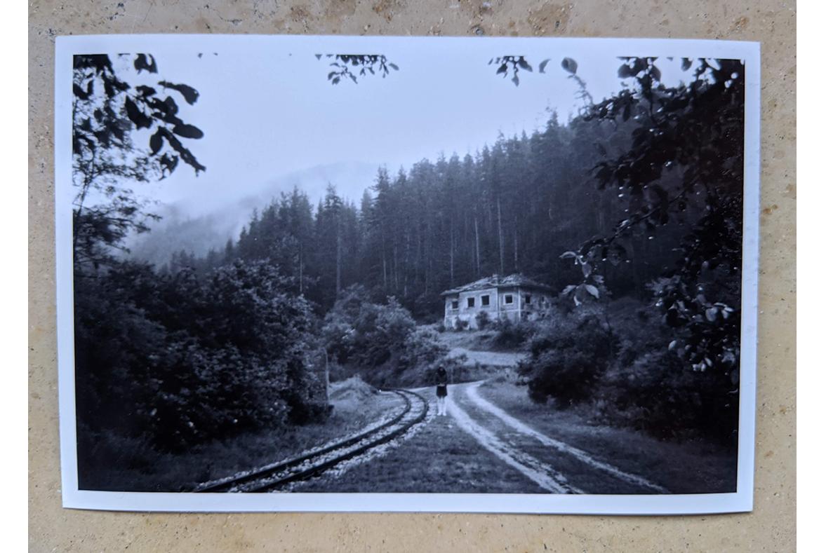 In den Rhodopen, vor dem Aufstieg nach Sveta Petka